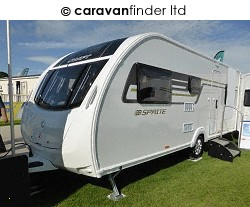 Sprite Major 6 TD SR 2017 Caravan Photo