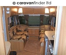 Swift Archway Caldecott 2009 Caravan Photo